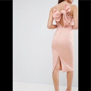 Asos Bow Back Dress